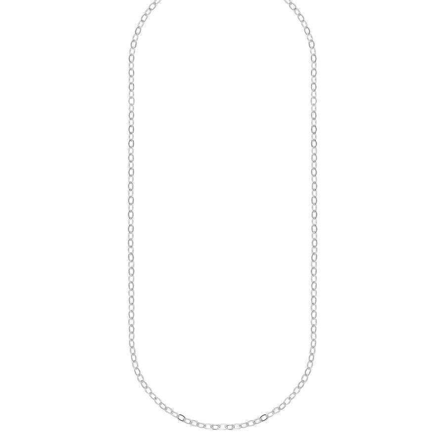 Snö of Sweden Chase True Small Necklace 50 Plain Silver