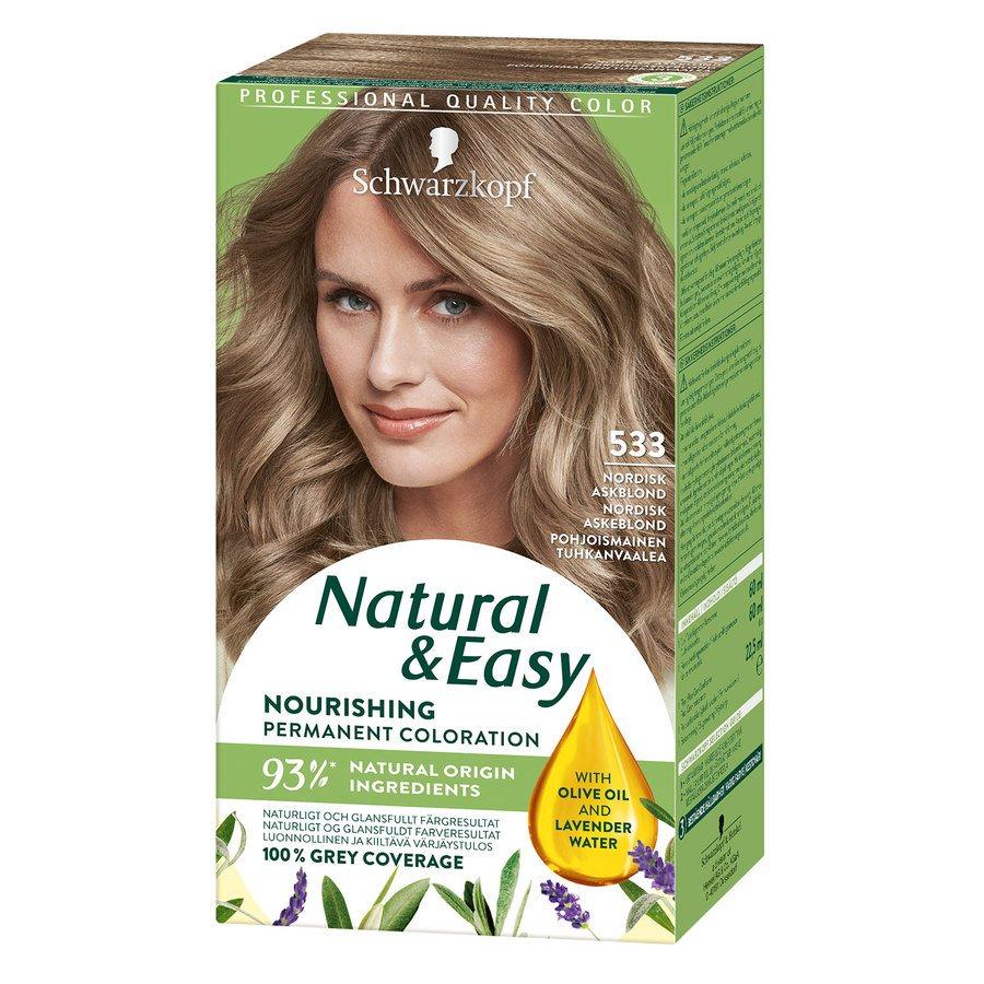 Schwarzkopf Natural & Easy 533 Intense Ash Blonde