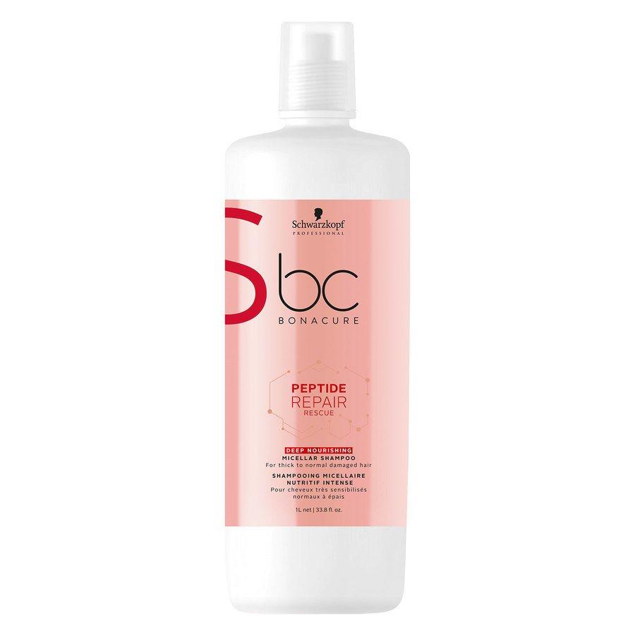 Schwarzkopf BC Peptide Repair Rescue Shampoo Deep Nourishing 1000 ml