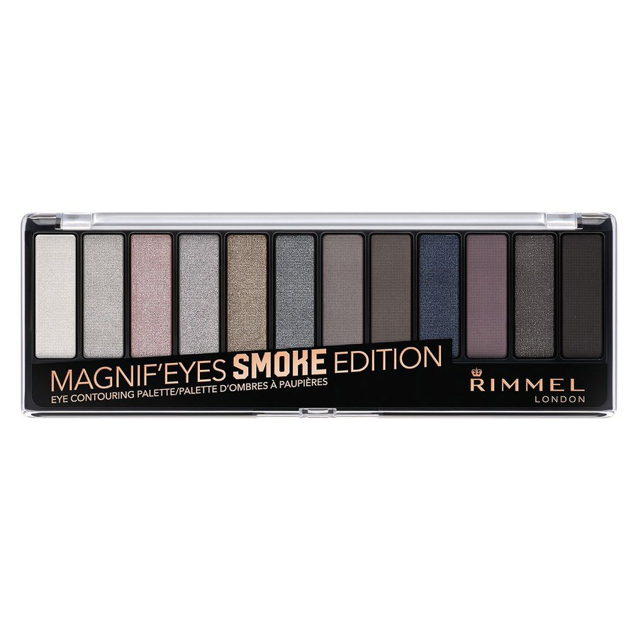 Rimmel London Magnif'eyes Eyeshadow Palette Smoke Edition 14g