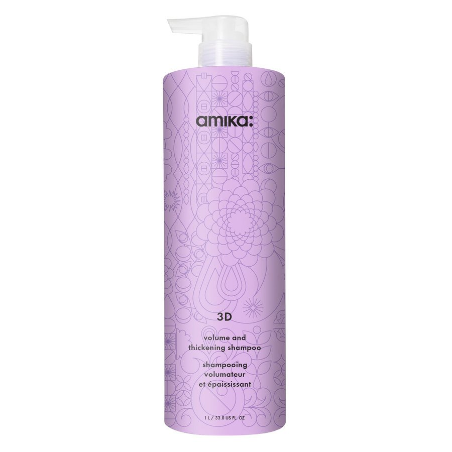 Amika 3D Volumizing and Thickening Shampoo 1000 ml