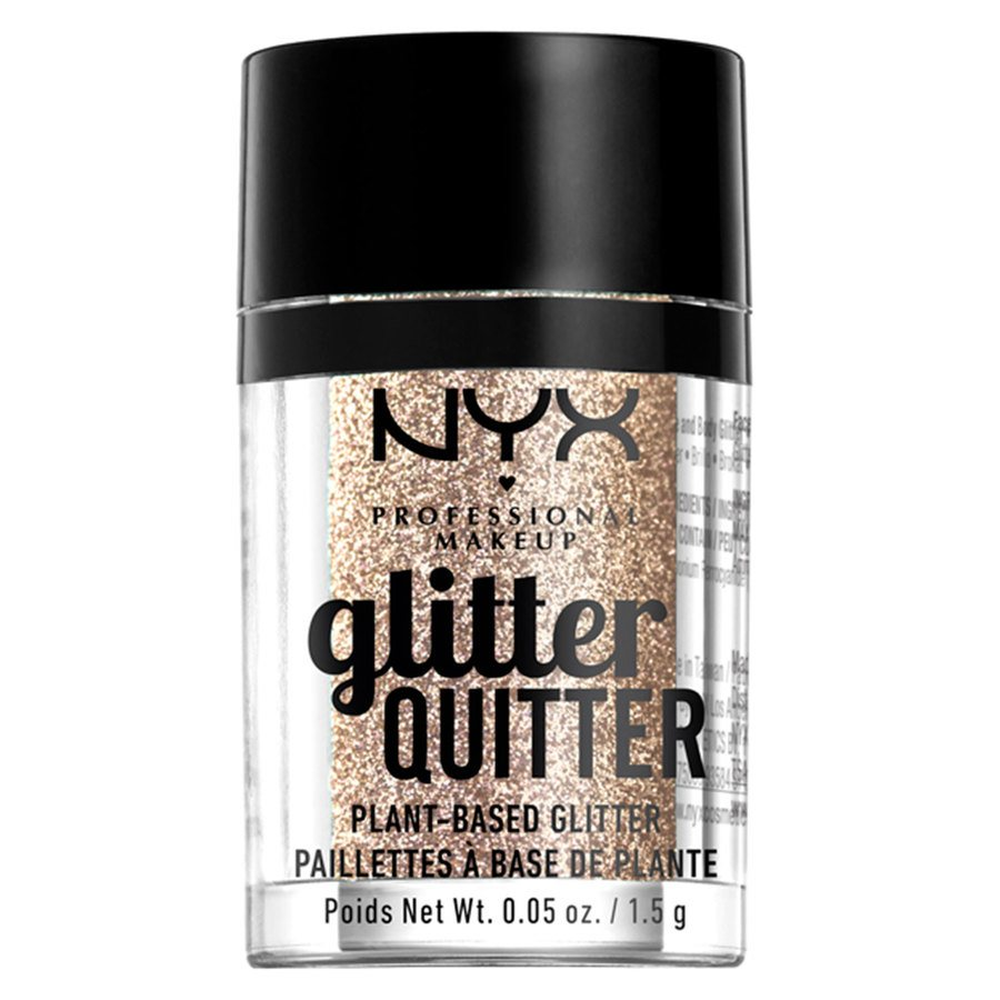 NYX Professional Makeup Glitter Quitter Plant Based Glitter Gold 1,5 g