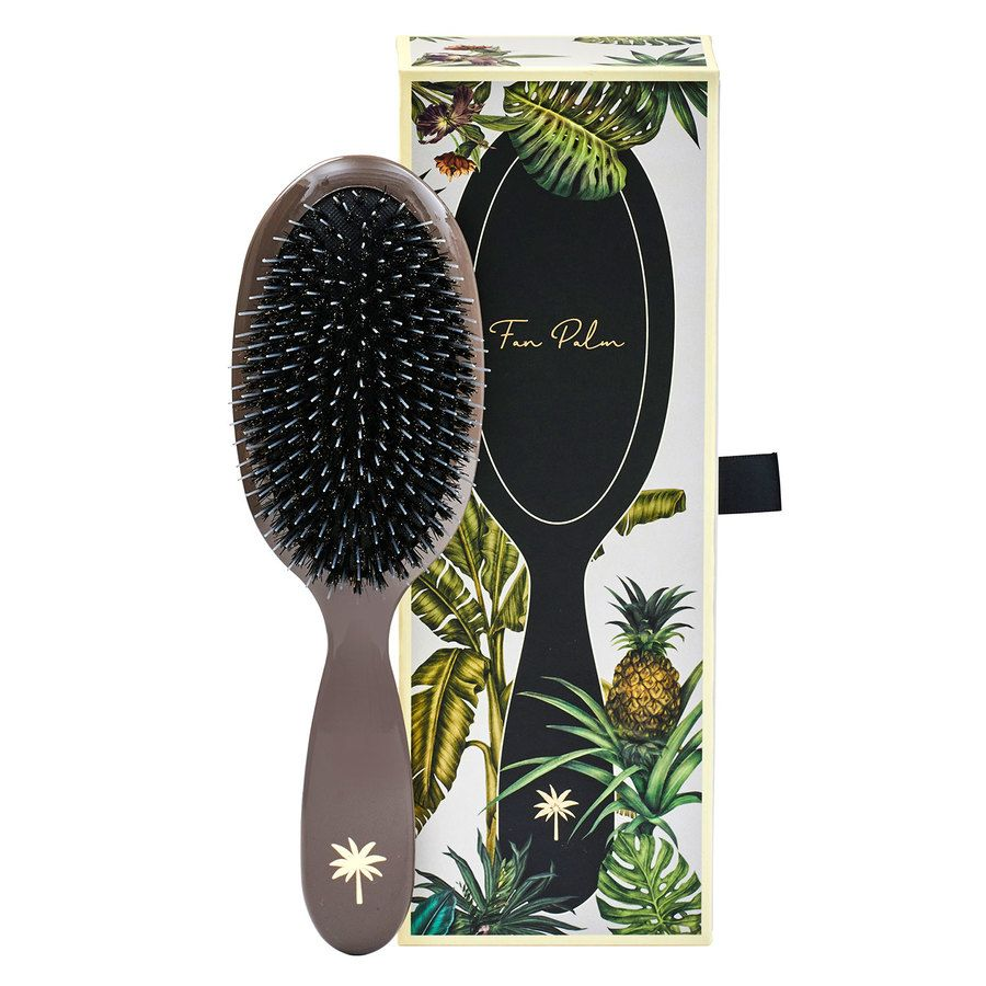 Fan Palm Boar & Nylon Brush Mink Medium