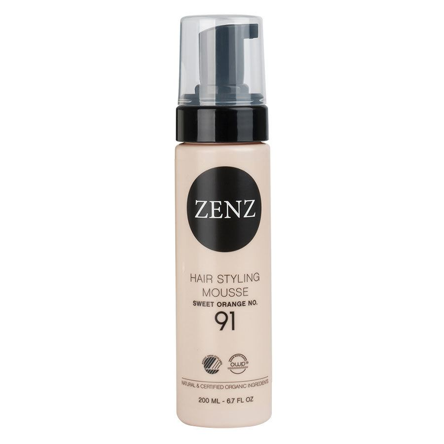 Zenz Organic No. 91 Hair Styling Mousse Extra Volume Sweet Orange 200 ml