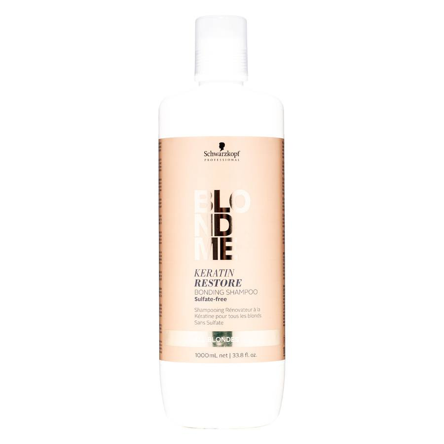 Schwarzkopf Blondme Keratin Restoring Bonding Shampoo 1000 ml