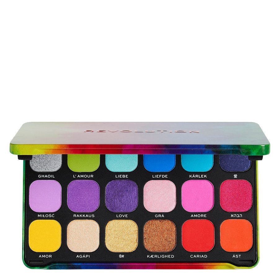 Makeup Revolution Forever Flawless We Are Love Palette 18 x 1,1 g