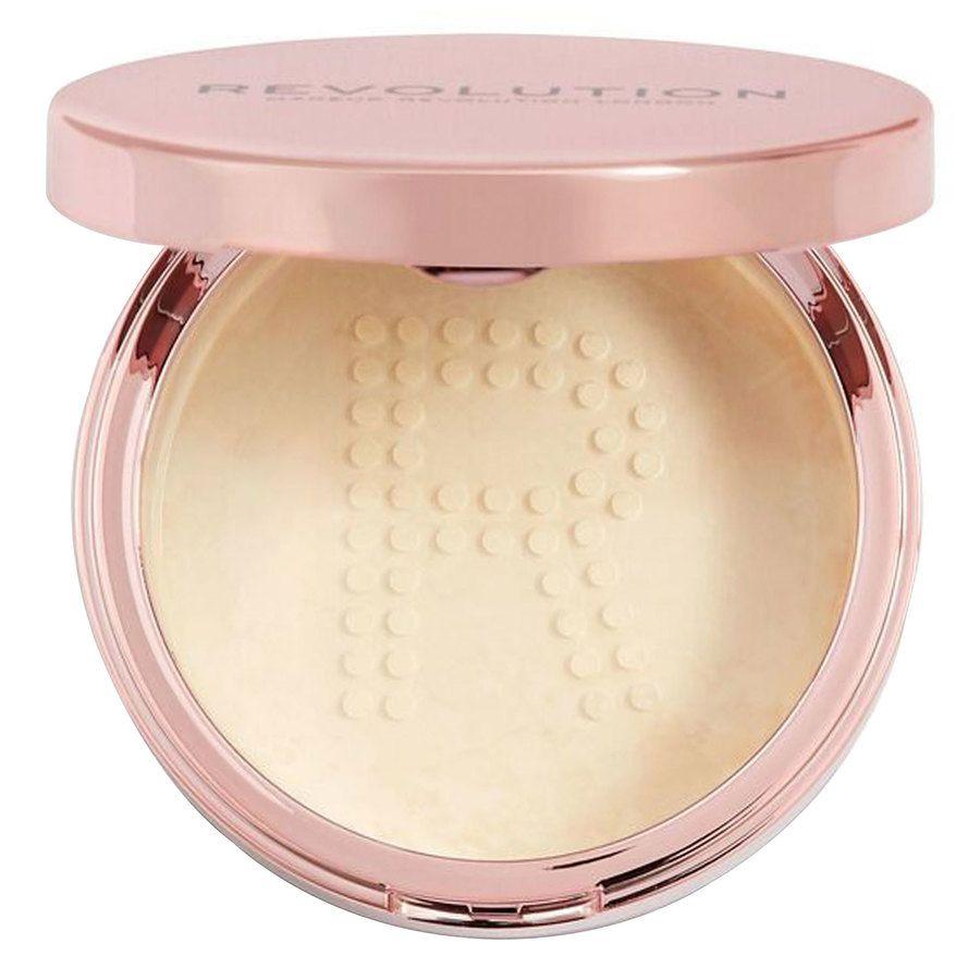 Makeup Revolution Conceal & Fix Setting Powder Light Yellow 13g