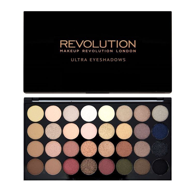 Makeup Revolution 32 Eyeshadow Palette Flawless 16 g