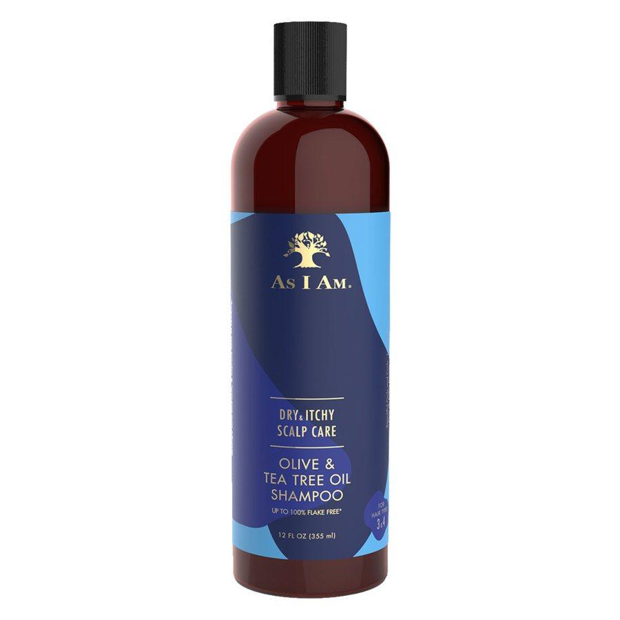 As I Am Dry & Itchy Scalp Care Olive & Tea Tree Oil Shampoo 355 ml