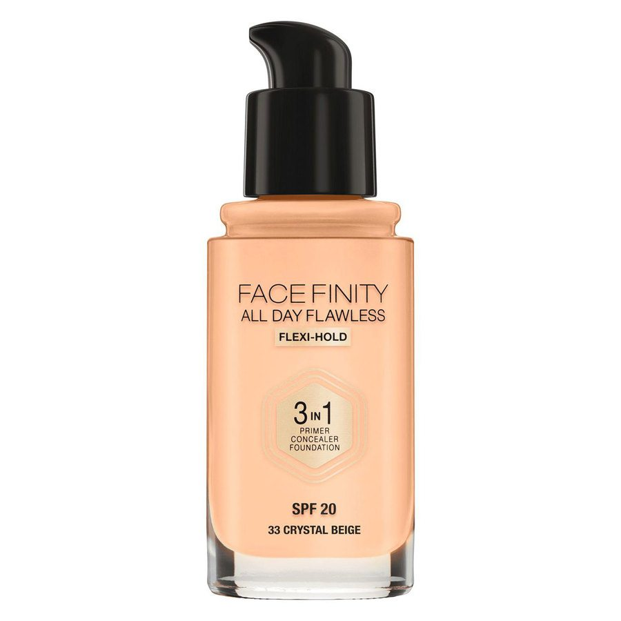 Max Factor Facefinity All Day Flawless 3-in-1 Foundation #33 Crystal Beige 30 ml