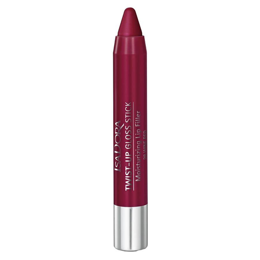 IsaDora Twist-Up Gloss Stick 28 Wine Red 3,3g