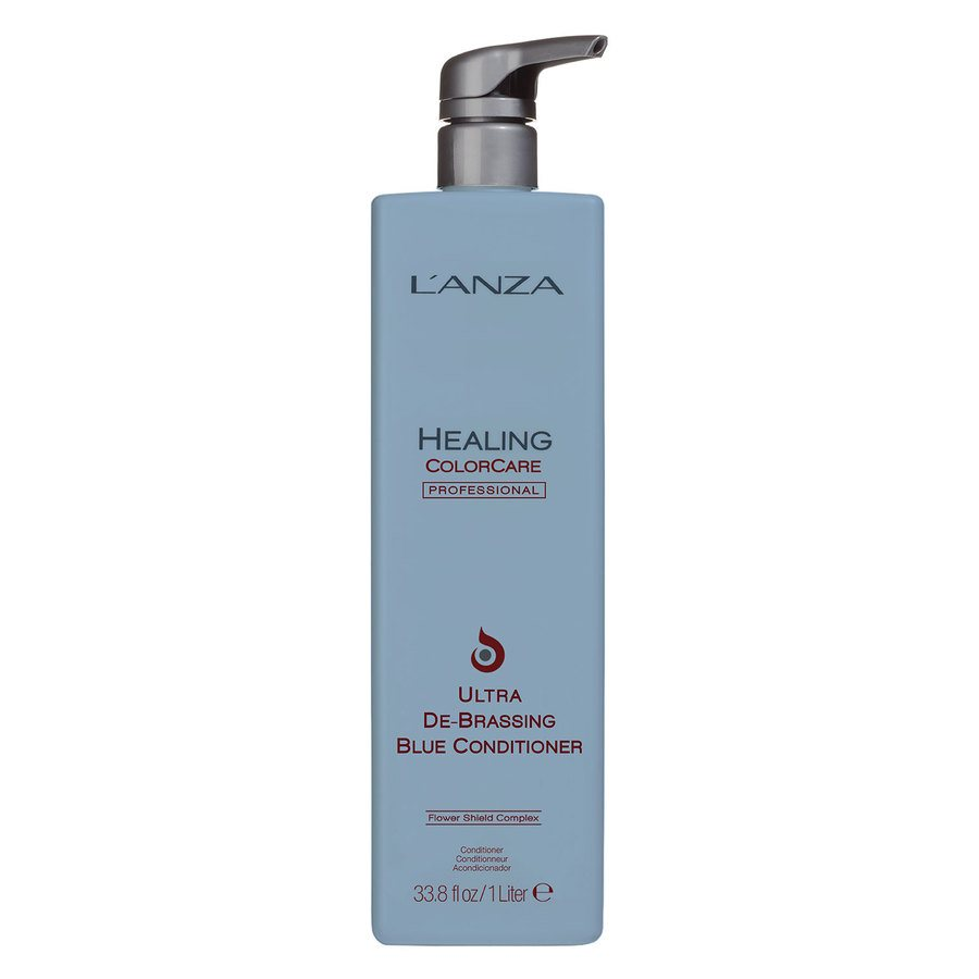 Lanza ColorCare Ultra De-Brassing Blue Conditioner 1000 ml