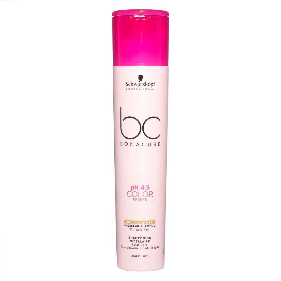 Schwarzkopf BC Bonacure Color Freeze Shampoo Gold Shimmer (250 ml)