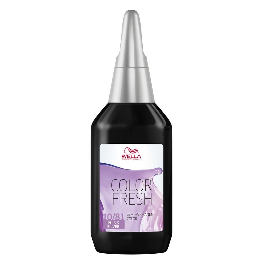 Wella Color Fresh 10/81 Lightest Pearl Ash Blonde 75ml