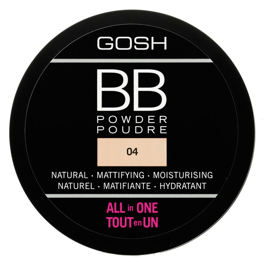 GOSH BB Powder #004 Beige 6,5 g
