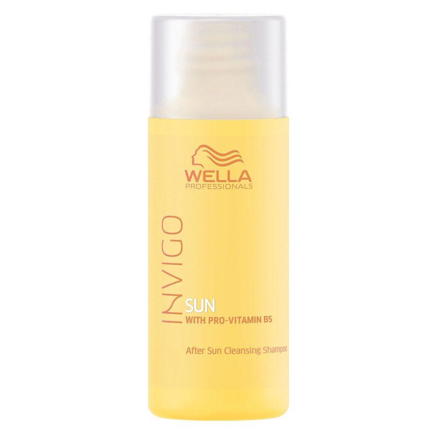 Wella Professionals Invigo Sun After Sun Cleansing Shampoo 50ml