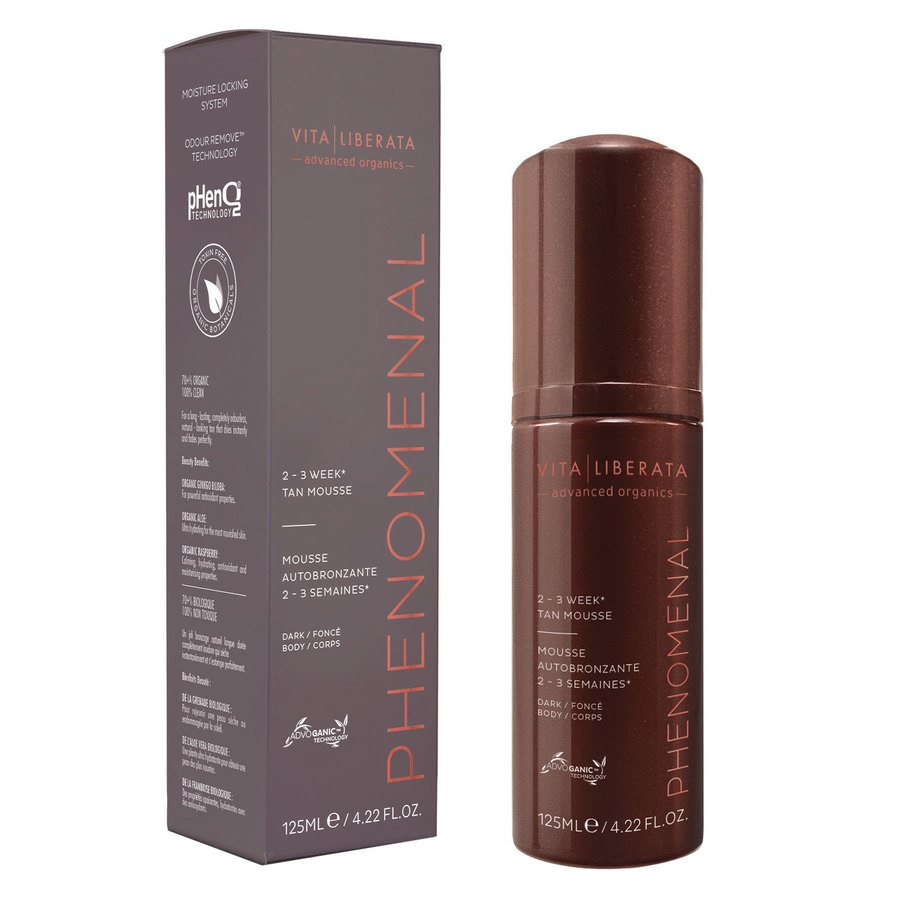 Vita Liberata pHenomenal 2–3 Week Tan Mousse Dark 125 ml