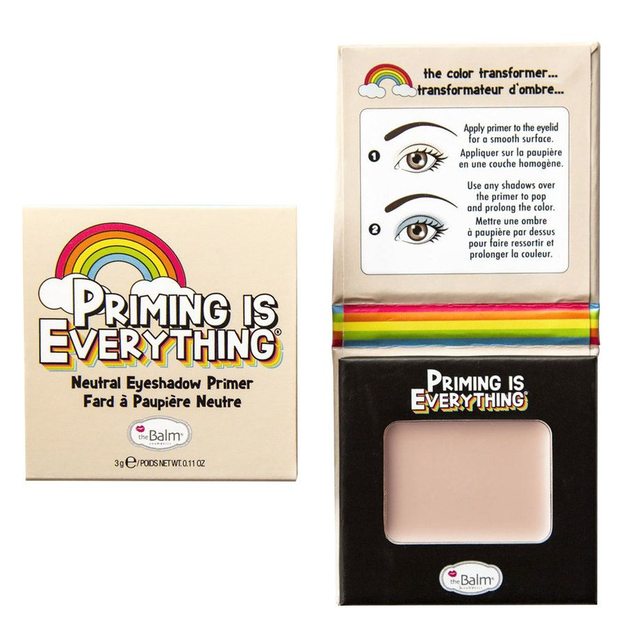 theBalm Priming Is Everything Eyeshadow Primer Neutral 3 g