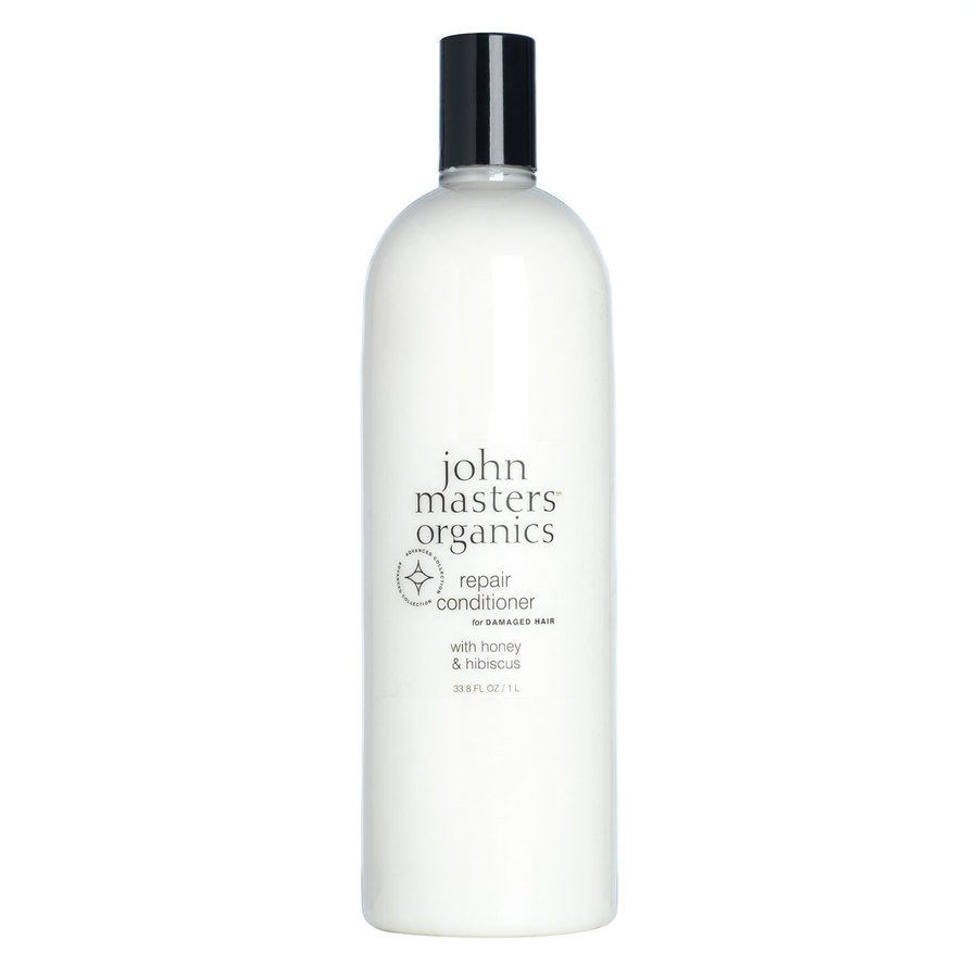 John Masters Organic Repair Conditioner For Damaged Hair -With Honey & Hibiscus 1000 ml