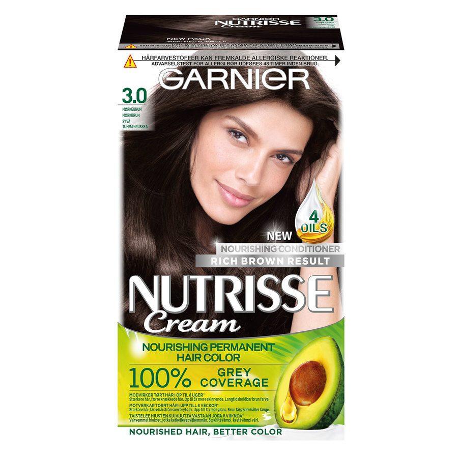 Garnier Nutrisse Cream 3 Mørk Brun