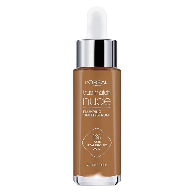 L'Oréal Paris True Match Nude Plumping Tinted Serum 7–8 Tan-Deep 30ml