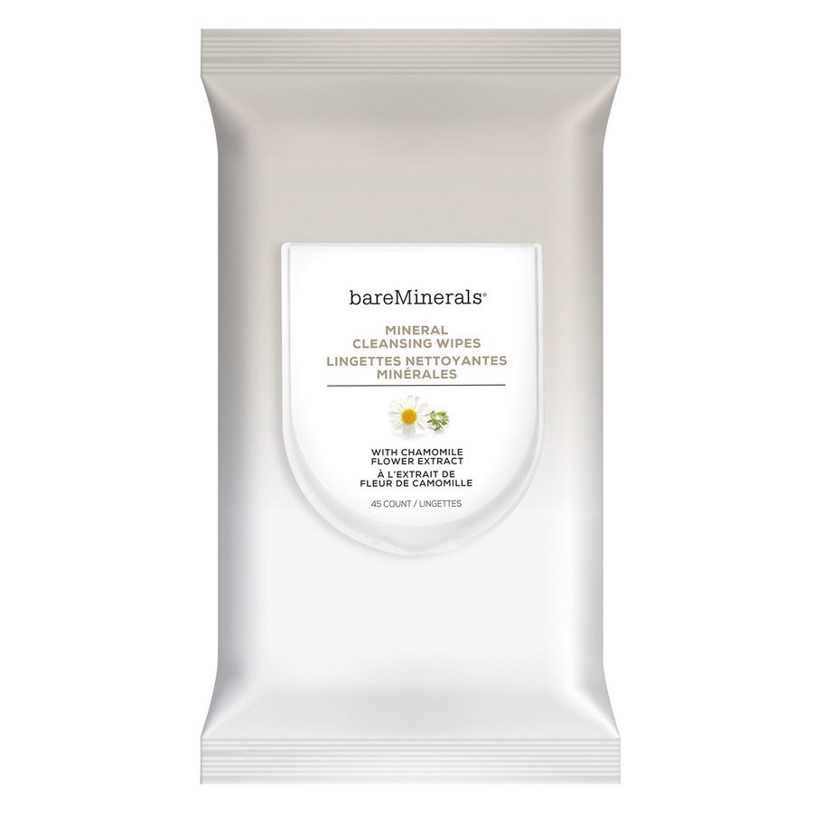 bareMinerals Mineral Cleansing Wipes 45 st