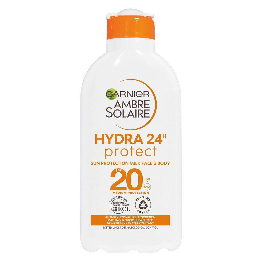 Garnier Ambre Solaire Hydra 24h High Protect Milk SPF20 200 ml