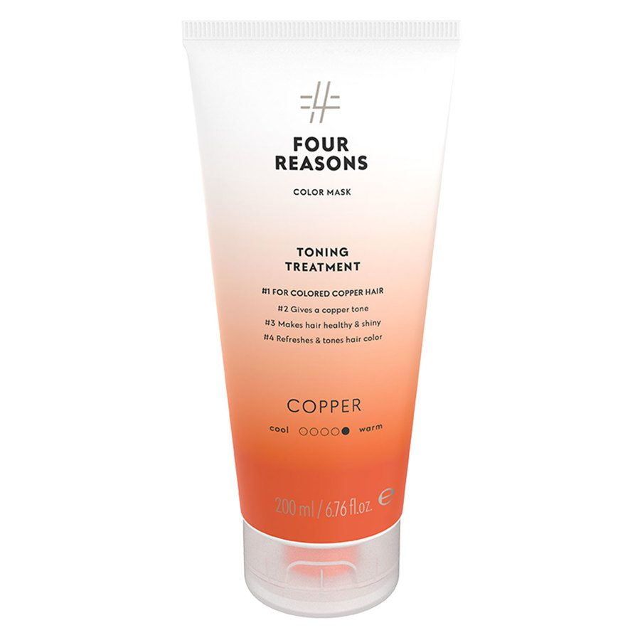 Four Reasons Color Mask Toning Treatment Copper 200 ml