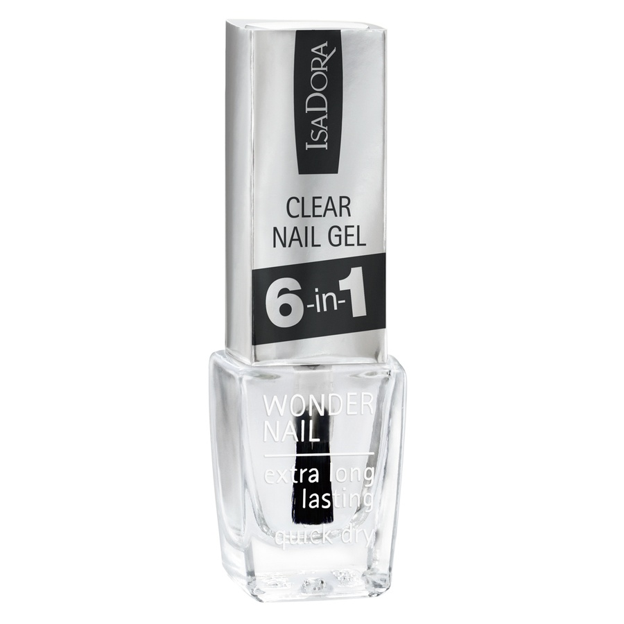 IsaDora 697 Clear Nail Gel 6-in-1 6ml