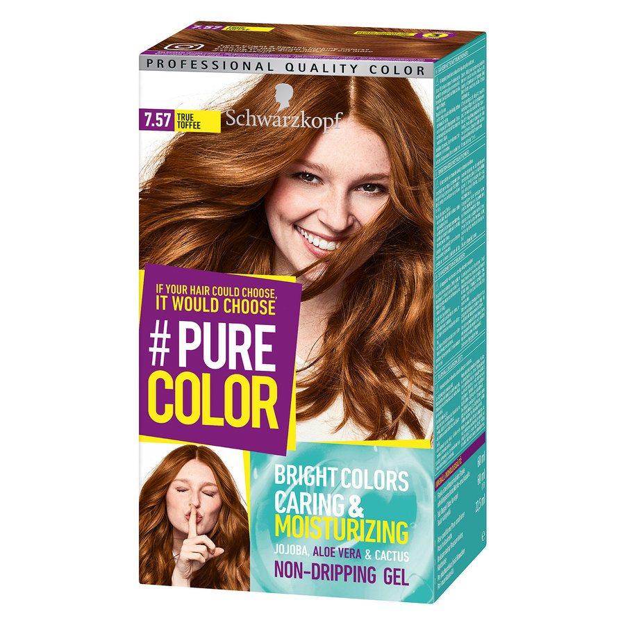Schwarzkopf Pure Color 7.57 True Toffee 142 g