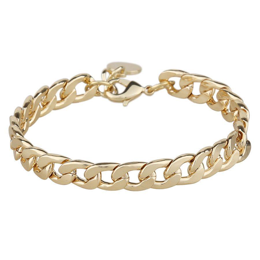 Snö Of Sweden Chase Mario Medium Bracelet Plain Gold