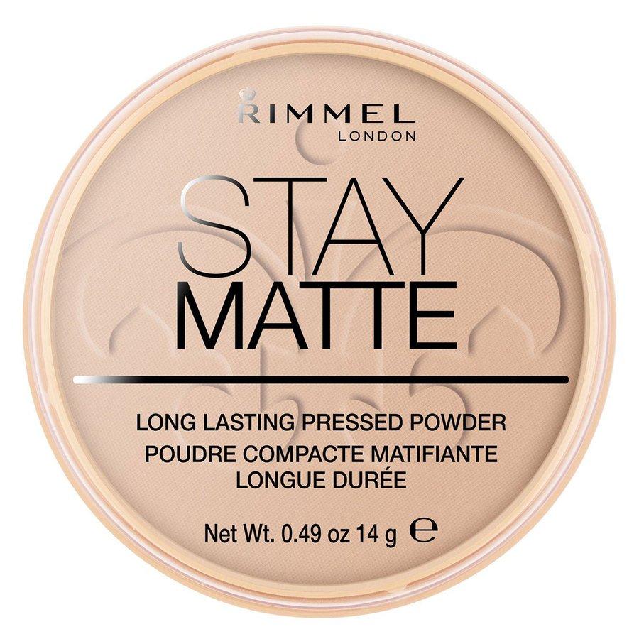 Rimmel Stay Matte Pressed Face Powder Silky Beige 005 14g