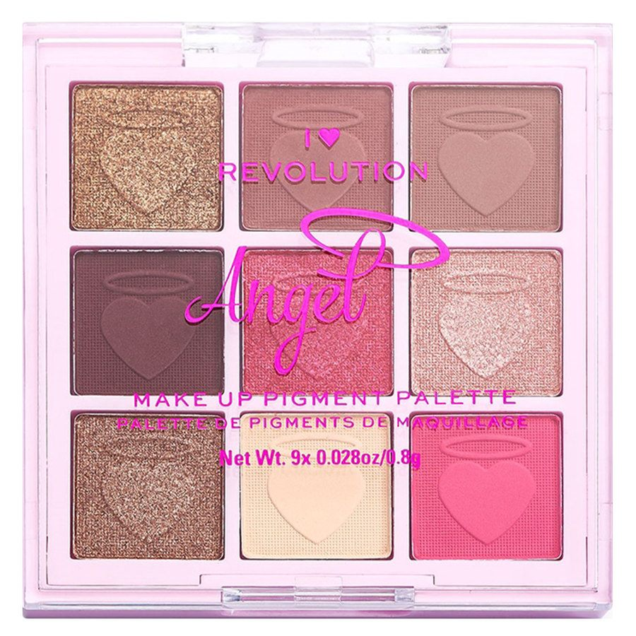 Makeup Revolution I Heart Revolution Angel Palette 9x0.8 g