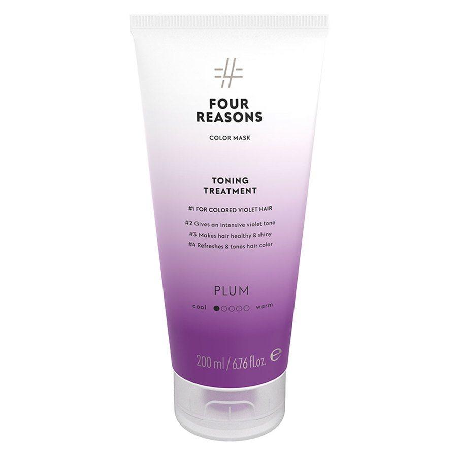 Four Reasons Color Mask Toning Treatment Plum 200 ml