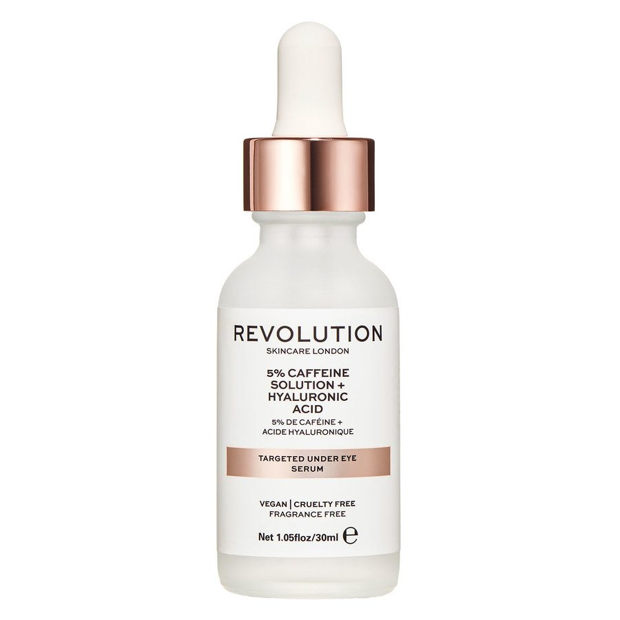 Revolution Skincare Targeted Under Eye Serum 5% Caffeine Solution + Hyaluronic Acid 30 ml