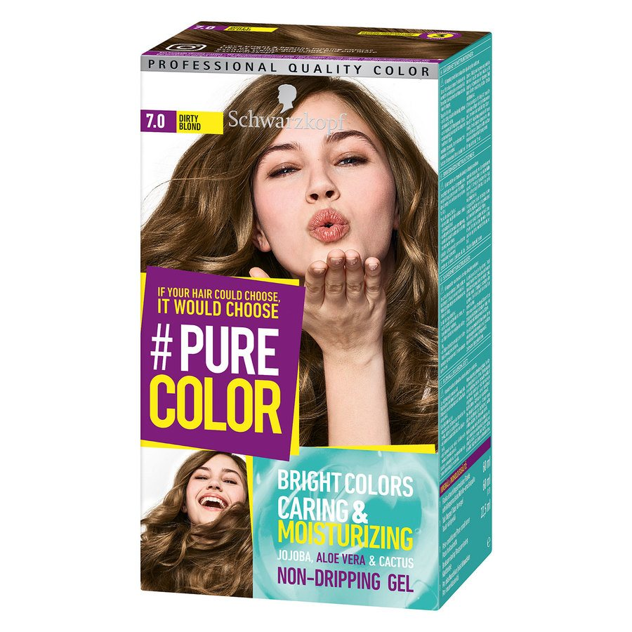 Schwarzkopf Pure Color 7.0 Smoky Blonde 142 g