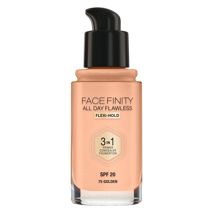Max Factor Facefinity All Day Flawless 3-in-1 Foundation #75 Golden 30 ml