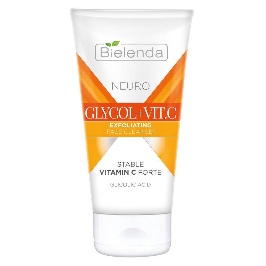 Bielenda Neuro Glycol + Vit.C Exfoliating Face Cleanser 150 ml