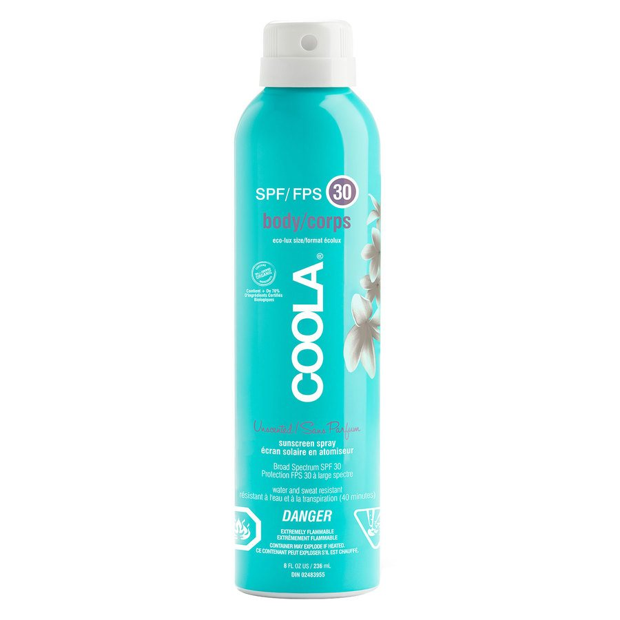 Coola Body Continuous Spray SPF 30 Unscented 236ml