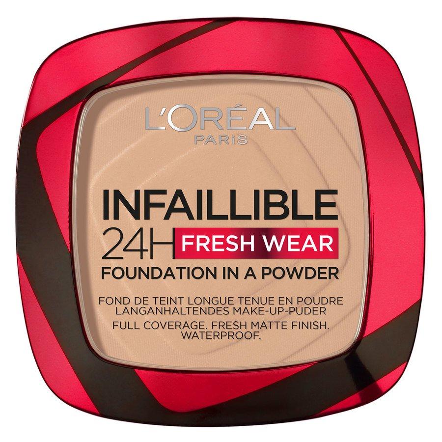 L'Oréal Paris Infaillible 24H Fresh Wear Foundation in a Powder True Beige 9 g