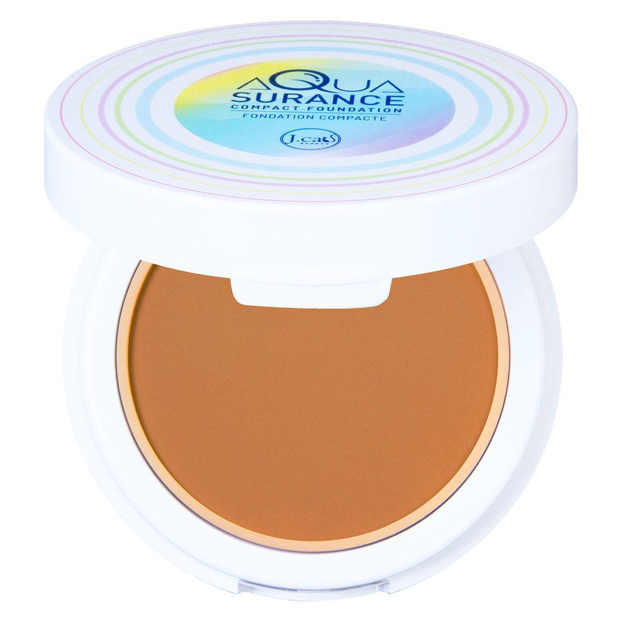 J.Cat Aquasurance Compact Foundation Honey 9g