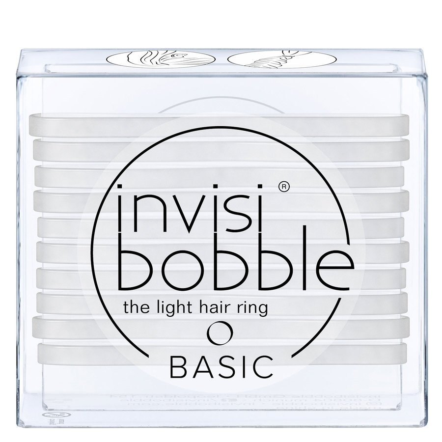 Invisibobble Basic Crystal Clear 10 st