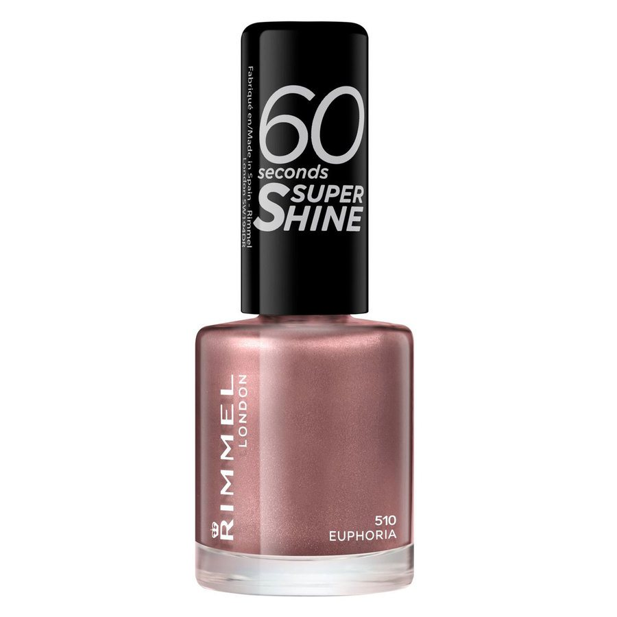 Rimmel London 60 Seconds Super Shine Nail Polish #510 Euphoria 8 ml