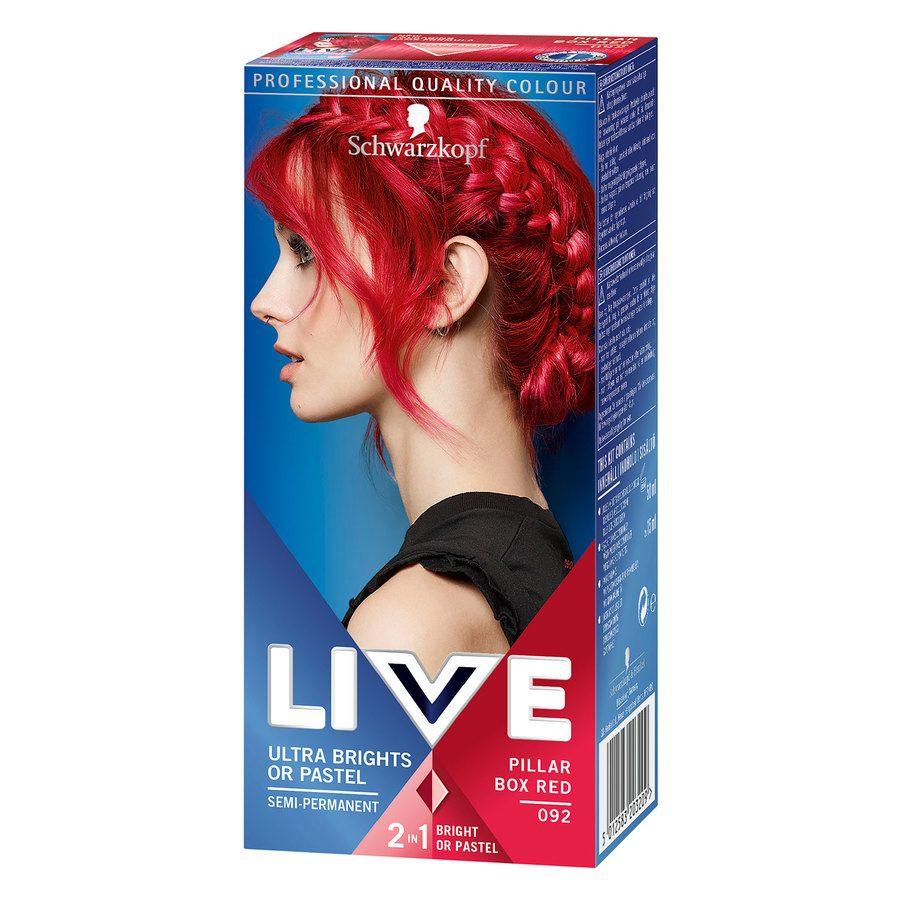 Schwarzkopf Live Ultra Bright #92 Red