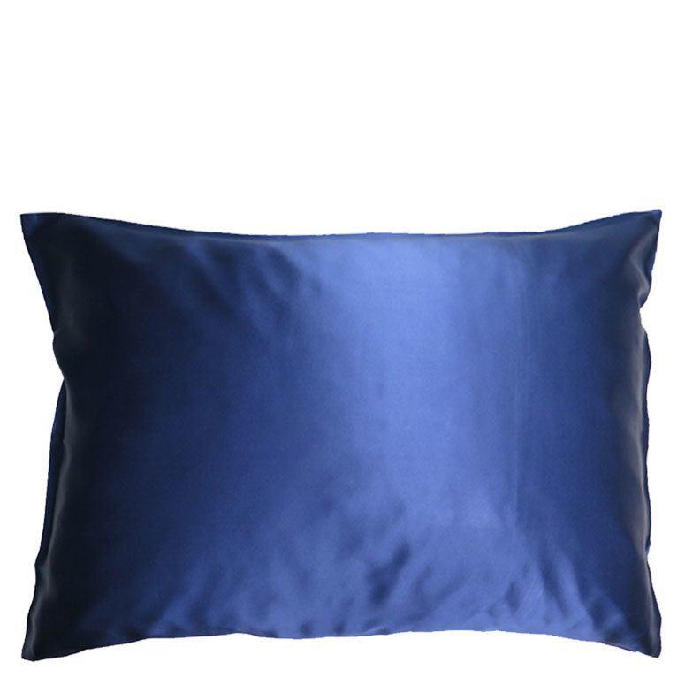 Soft Cloud Mulberry Silk Pillowcase Navy 50x60 cm