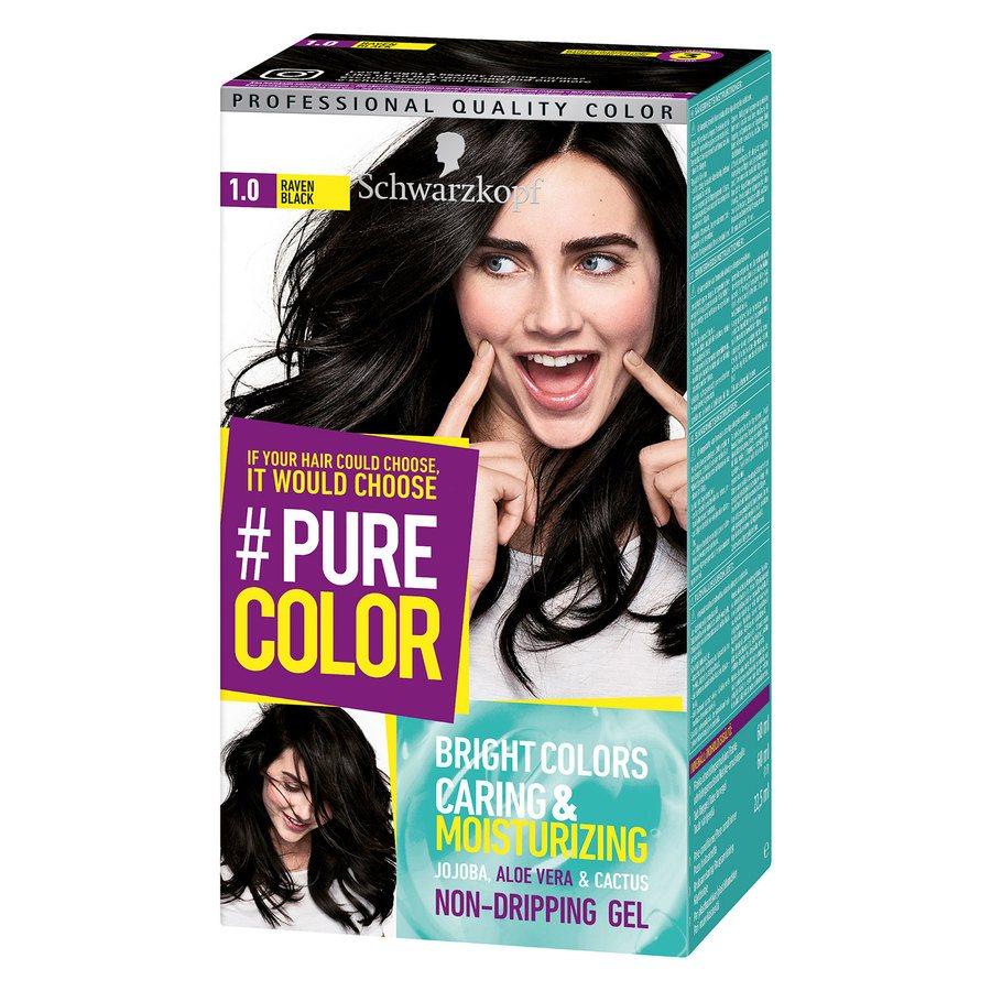 Schwarzkopf Pure Color 1.0 Raven Black 142 g