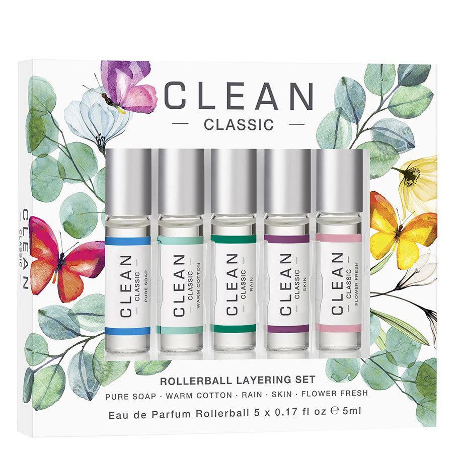 Clean Rollerball Layering Set Eau de Parfum 5x5 ml