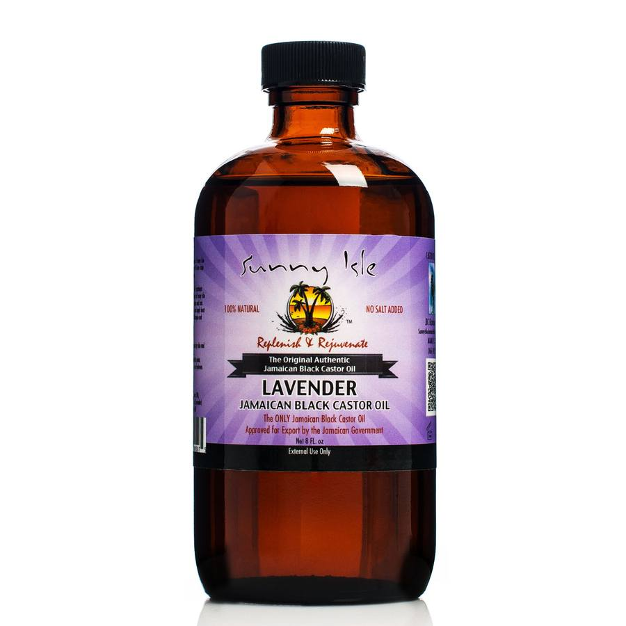 Sunny Isle Castor Oil  Lavender Jamaican Black 236ml