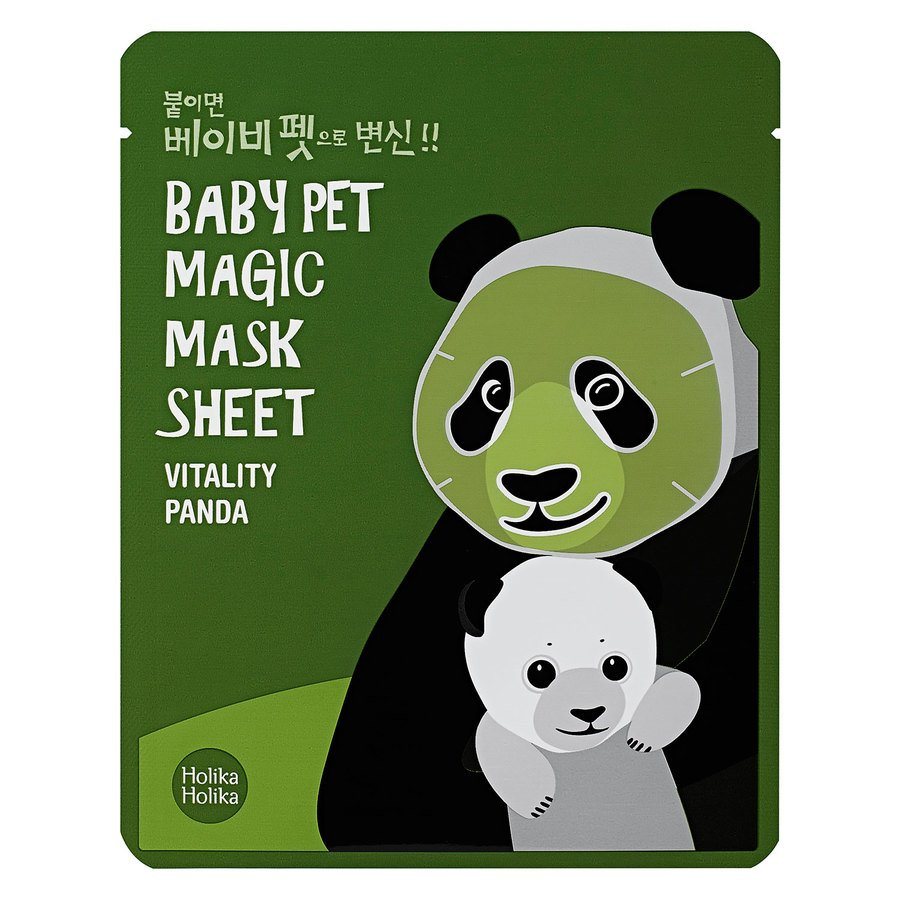 Holika Holika Baby Pet Magic Mask Sheet (Panda) 22ml