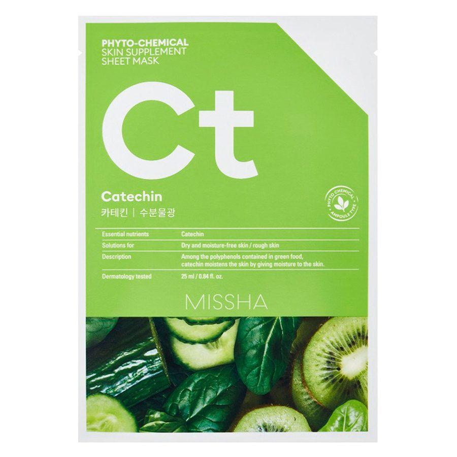 Missha Phytochemical Skin Supplement Sheet Mask Catechin 25 ml